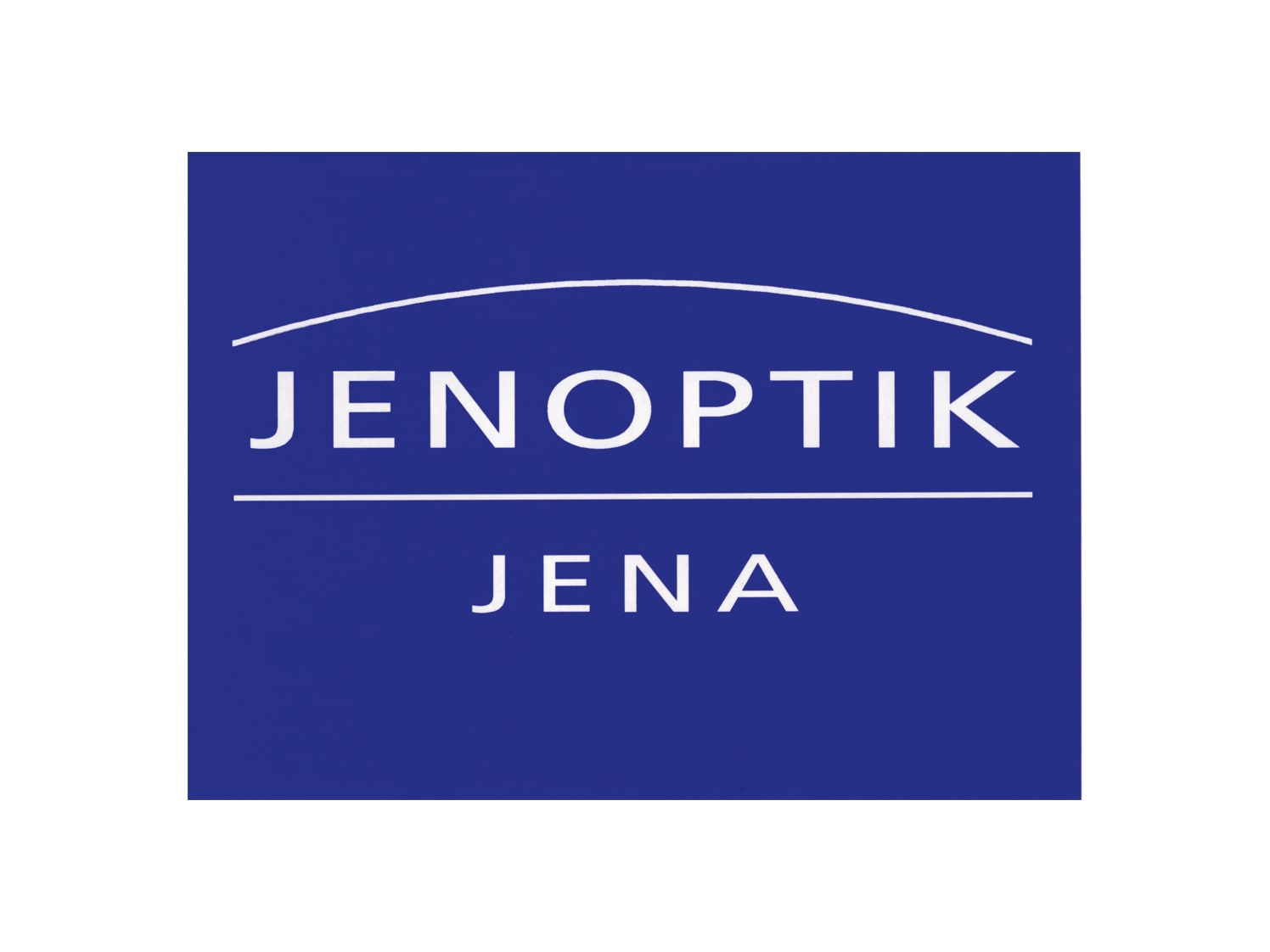 Jenoptik logo from 1991 to 1994