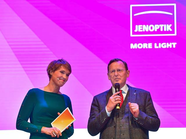 2020 New Year's reception of Jenoptik
