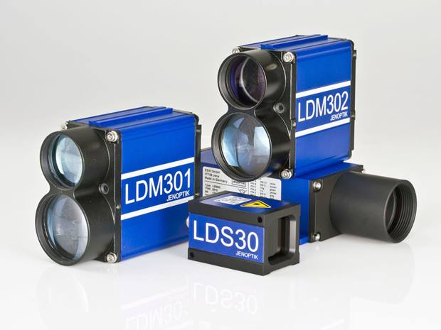 Laser Distance Sensors for long measuring ranges and millimeter accuracy
