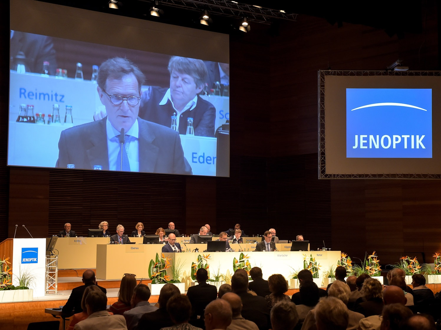 Annual General Meeting of JENOPTIK AG