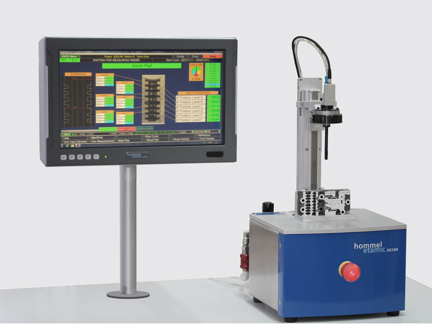 Semi-Automatic Measuring Systems
