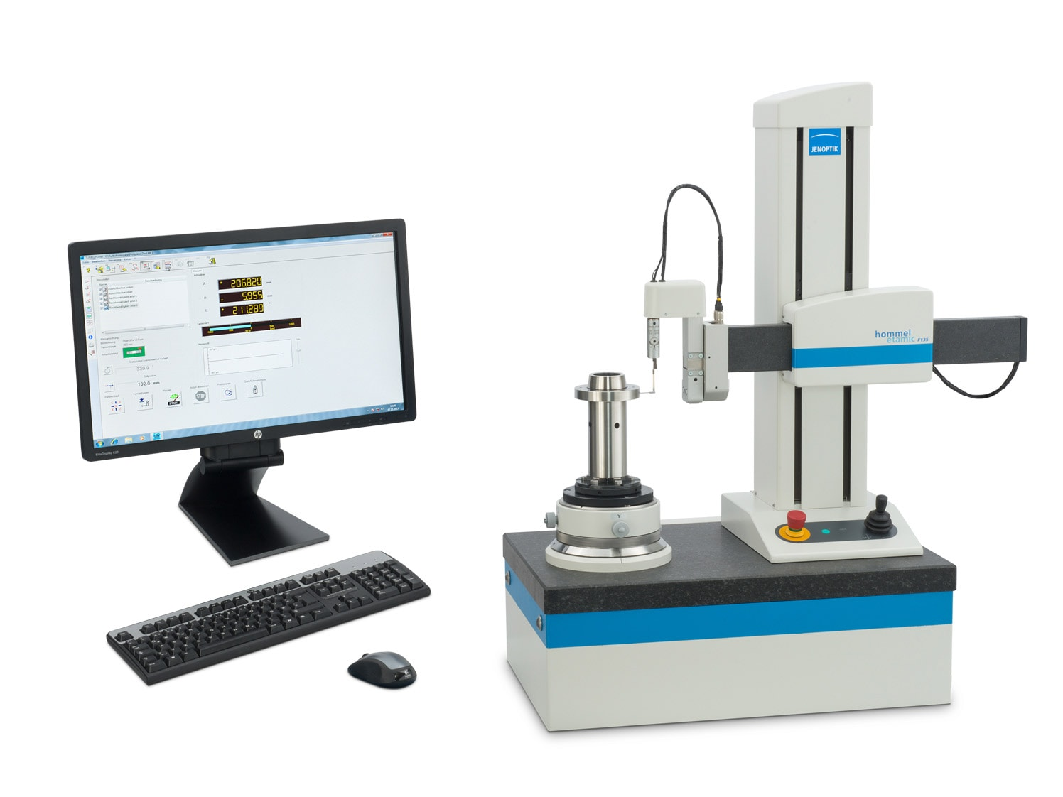 Hommel-Etamic F135 und F155 - Applicable for a wide range of measuring tasks
