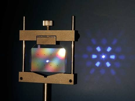 Diffractive Optical Elements: shape and split laser beams