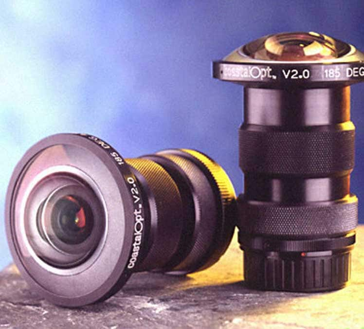 Fisheye objective lens