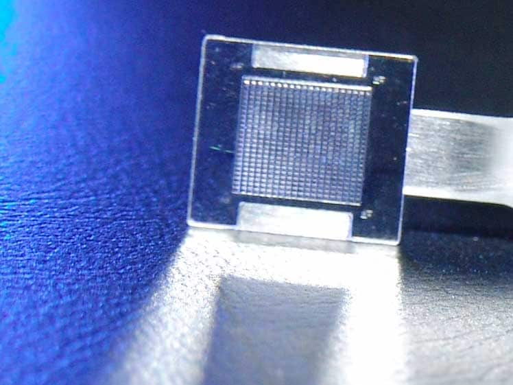 double-sided polymer micro lens array