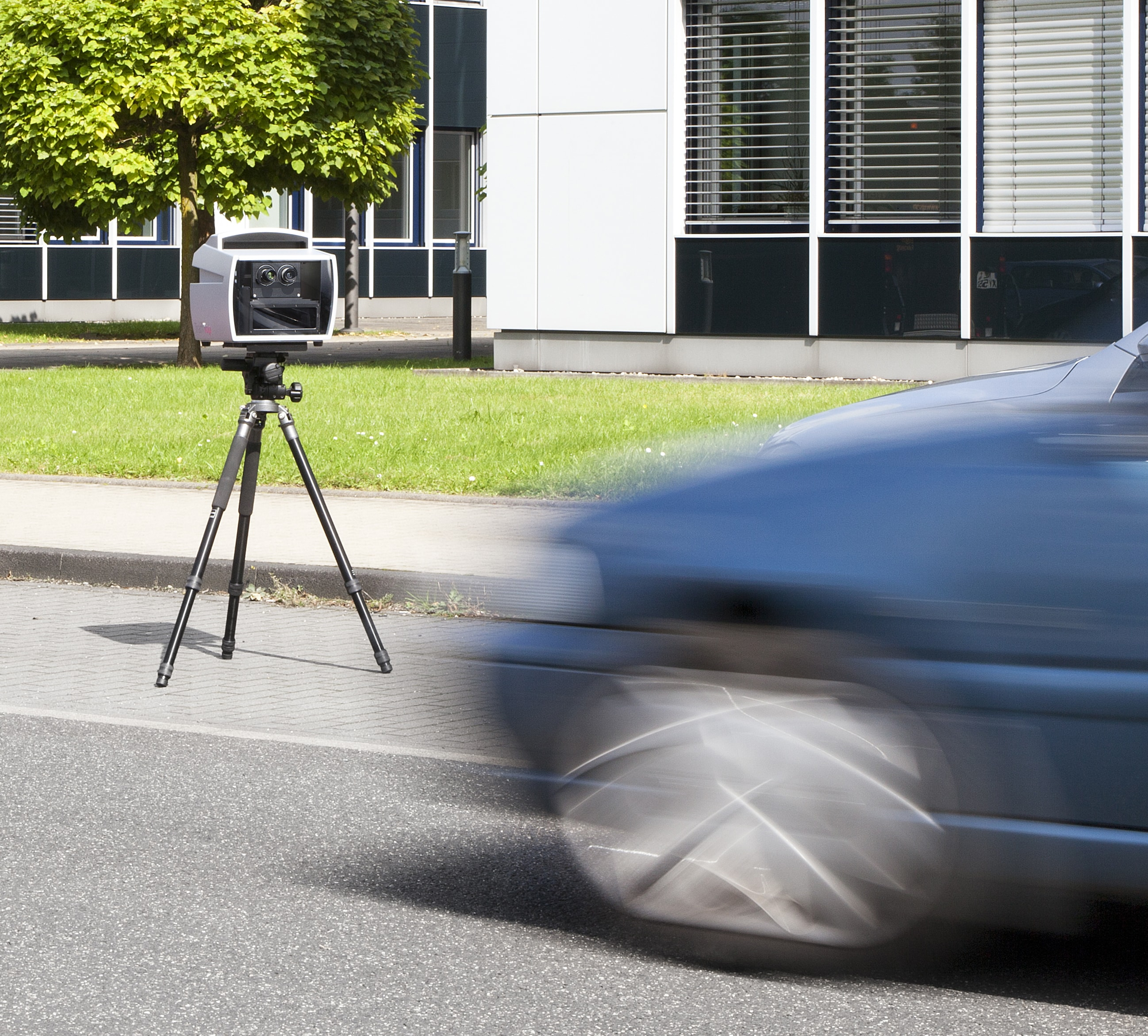Mobile speed enforcement